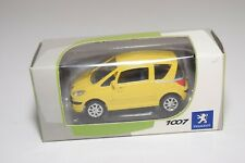 A2 1:64 NOREV PEUGEOT 1007 YELLOW MINT BOXED