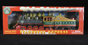 Starbucks Express Train With Working Lights and Poster