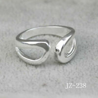 Ring 925 Sterling Silver Plated New Women Jewelry Adjustable Open Thumb Finger