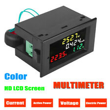 AC 80-300V 100A Digital Multimeter Voltmeter Ammeter Voltage Current Amp Meter