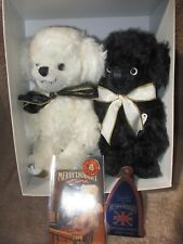 Merrythought Teddy Bears Cheeky Vice Versa Pair in Box Late 1990's