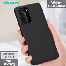 NILLKIN For Huawei P40 Pro P40 Lite Shockproof Slim Frosted Hard Back Case Cover