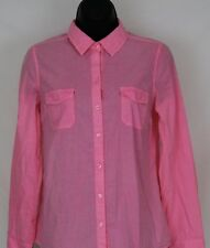 Women's OLD NAVY Pink Button Front Shirt Size XS XSmall