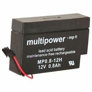 """Multipower MP0.8-12H 0,8Ah 12V  """"Heim und Haus"""" AGM (VRLA)"""