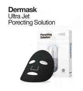 Dr.Jart+ Dermask Ultra Jet Porecting Solution Bubbling Charcoal Sheet Mask 5 PCS
