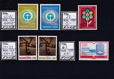 UNO Vienna/Geneve/Suisse int. Issues mnh, used, High cv - Lot Vereinte Nationen