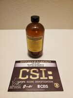 CSI 🧴 CRIME SCENE INVESTIGATION 🧴 SCREEN USED CBS TV PROP w/ COA ! DRY HEXANES