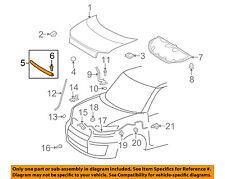 Scion TOYOTA OEM 08-15 xB Hood-Front Seal Gasket 5338112250