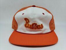Vtg NFL Tampa Bay Buccaneers Sports Specialties Orange Mesh Snapback Trucker Hat