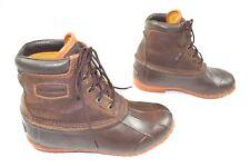 Womens Lacrosse Duck Boots 5 Eye Leather PAC 424502 Sz 8 Waterproof Leather NICE