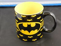 Batman Coffee Cup Silver Buffalo Jumbo DC Comics 24oz Ceramic Mug 709mL