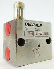 DELIMON ZV-B Hydraulikventil Hydraulic Valve Schmierstoffverteiler 35712-3321