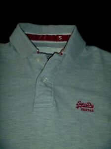 #8045 SUPERDRY Polo Shirt Size Small
