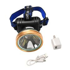 USB LED Headlamp Rechargeable Headlight Fishing Sensor Head Torch Light Lamp