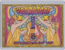 WOODSTOCK GENERATION ROCK POSTER CARDS SKETCH CARD SKETCHED BY JASON HUGHES