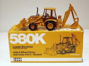 Case 580K Backhoe - 1/35 - Conrad #2934 - MIB - SN# 6706