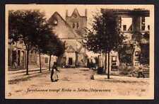 94709 AK Ostpreußen Soldau zerschossene Kirche 1916 Ostpreußenhilfe