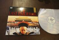 Laserdisc THE LAST EMPEROR 1987 Best Picture Director CAV Full Format 3 LD 164 m