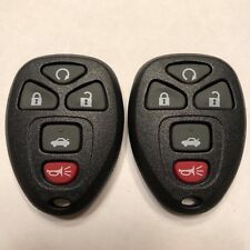 2 New Replacement Keyless Remote Key Fobs 5 Button OUC60270 OUC60221 15912860
