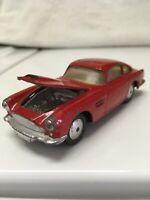 Corgi Toys 218 Aston Martin D.B.4 Red Made in Great Britain