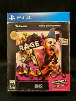 NEW ~ Rage 2 GameStop Exclusive w/ Wingstick (Sony PlayStation 4, 2019) PS4