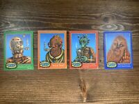Emek Set Of 4 Stickers Stoned Wars Star Wars 3 X 4 Inches 420 CPO WOOK