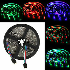 16ft 5M 3528 SMD RGB 300 60leds/M LED Strip Flexible Light Lamp Non-Waterproof