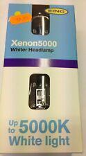 2 X Anillo Xenon 5000 H1 Coche Bombillas 5000k Blanco Lámparas +50% más de Luz (par)