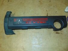 02-03 Acura TL Type-S 3.2 Engine Cover Shield OEM Black Red 2002-2003