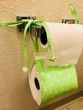 toilet paper holder, handmade, bathroom accessories, brand new, beautiful, cute