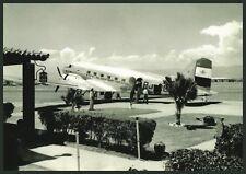 Port-au-Prince, KLM W.I., DC-3 Aviation Airplane Postcard