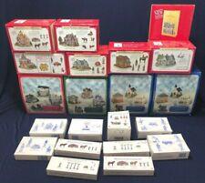 Liberty Falls Village Sets Lot 10 Boxes 18 Houses + Accessories - Model Train
