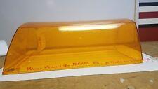 Signal-Stat amber mini-light bar lens 19'', new