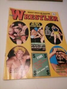 Vintage WRESTLER Wrestling ads Magazine WWWF NWA 1969 AWA Graham blood Blassie