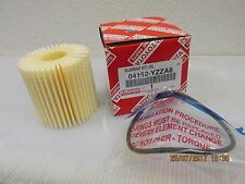 GENUINE TOYOTA OIL FILTER OE PART NUMBER 04152YZZA8
