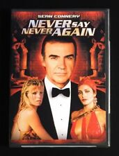 NEVER SAY NEVER AGAIN (DVD, 2000) JAMES BOND  SEAN CONNERY - OOP NEW & SEALED