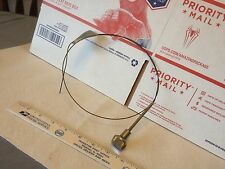 Old car/truck/farm machine choke or throttle cable.  Used.      Item:  6554