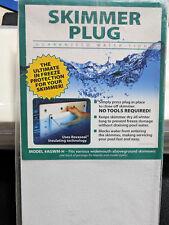 Skimmer Plug for Widemouth Above Ground Pool Skimmer Model # AGWM_H