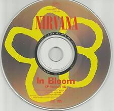 NIRVANA In Bloom Ultra Rare 1992 PROMO Radio DJ CD Single USA PROCD4463 MINT