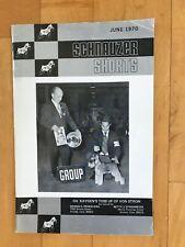 Schnauzer Shorts Magazine 1970 - Miniature Schnauzer - Dog