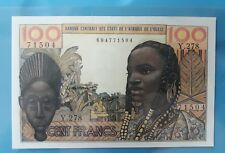 1965 French West African States 100 Francs AU+ <P-2a>