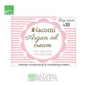 Nacomi Natural Argan Oil Day Cream for Dry and Normal Skin 30+ 50ml