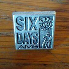 spilla pin MOTO SIX DAYS AMB 72