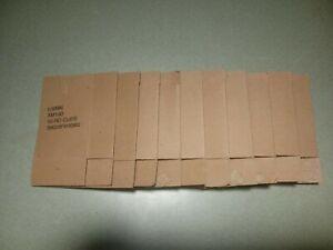 10 Orig. 4 Pocket Bandolier Cardboard Box Insert Holds 3  5.56 223 Stripper Clip
