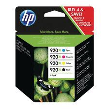 4 Original HP 920XL Ink Cartridges for OfficeJet 6000 6500 6500A 7500 7500A 7000