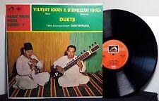 "Vilayat Khan & Bismillah Khan ""Duets"" vinyl LP India Sitar"