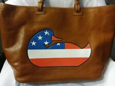 Dooney&bourke Patriotic duck Florentine Leather leisure Bag