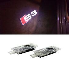 S3 Led Door Puddle Light Projector Welcome Courtesy Logo Emblem HD Kit  For AUDI
