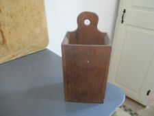 Antique wood wall box/lollipop top. Nice one.