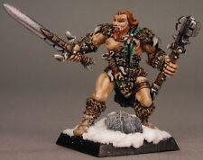 Grundor Mercenaries Sergeant Reaper Miniatures Warlord Barbarian Fighter Melee